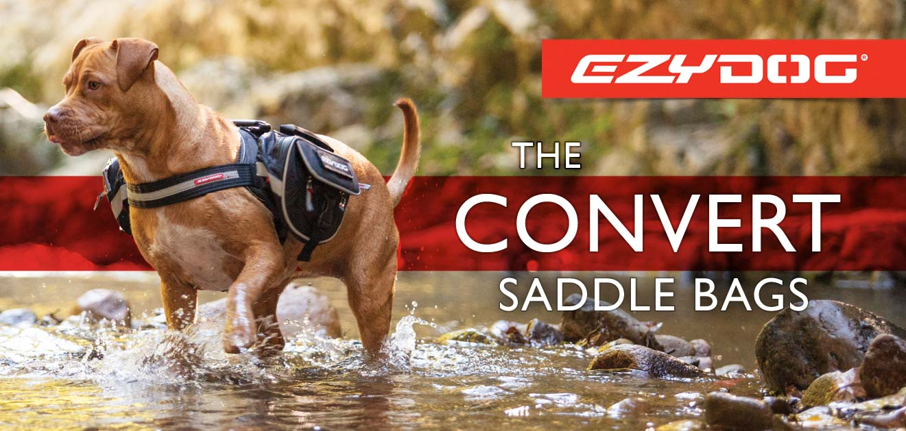 EzyDog Dog Convert Harness